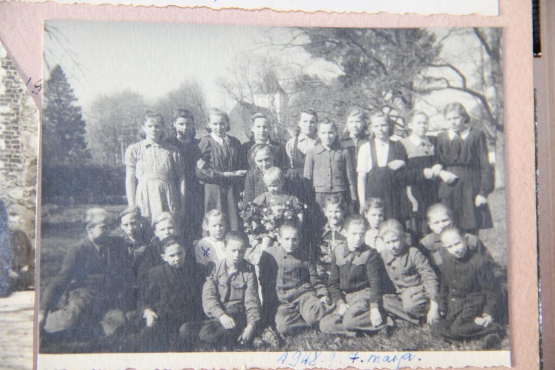 Vānes skolas izlaidums 1950