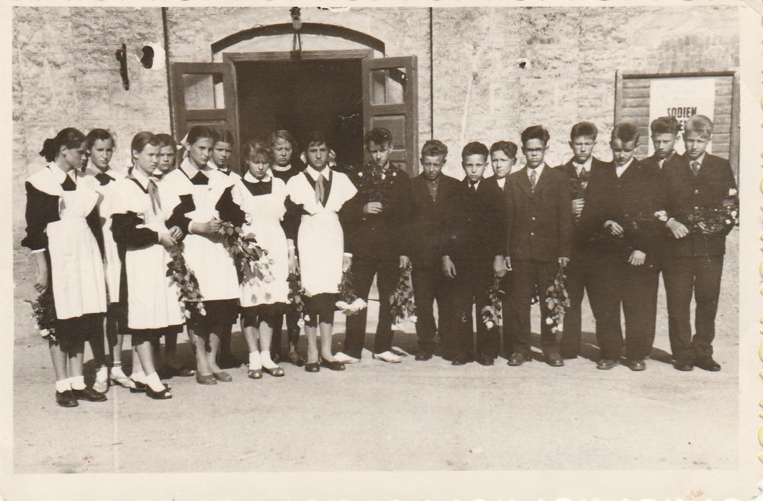 Vānes skolas izlaidums 1960