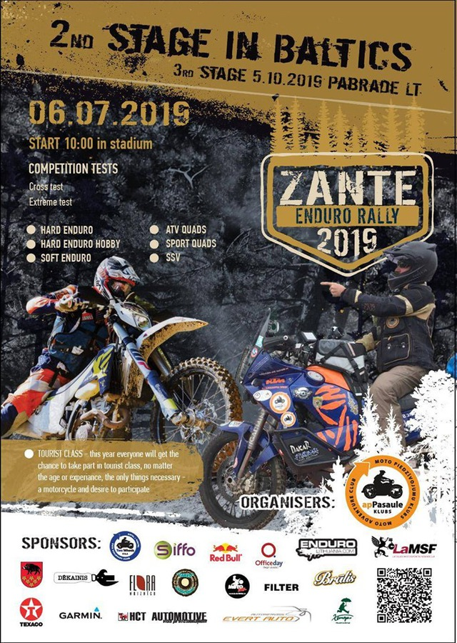 Baltijas Enduro rallijs 2019