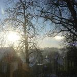2012.gada 31.janvāris. Kandavā divas saules. Foto: Dagnija Gudriķe