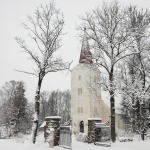 2013.gada pavasaris. Kandavas Luterāņu baznīca. Foto: Daiga Rēdmane
