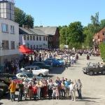 2011.gada maijs. Kandavas novada svētki Vecpilsētas laukumā. Foto: Dagnija Gudriķe