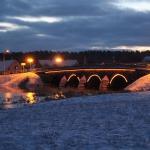 2015.gada janvāris. Kandavas laukakmeņu tilts. Foto: Jānis Kamerāds