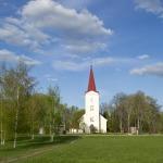 2012.gada pavasaris. Kandavas ev.luteriskā baznīca. Foto: Egils Rēdmanis