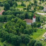 2012.gads. Kandavas Luterāņu baznīca. Foto: Mihails Ignats