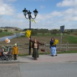 2018. gada 1. maijā 145 gadus vecā Abavas tilta godināšana. Foto: Daiga Rēdmane