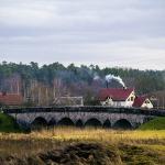 Vecākais laukakmeņu tilts Latvijā - tilts pār Abavu Kandavā 2015.gada decembrī. Foto: Māris Grasmanis