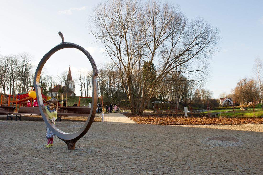 Kandavas promenāde. Foto: E.Rēdmanis