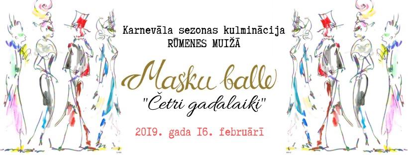 "Masku balle 2019 ""Četri gadalaiki"""