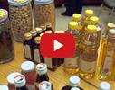Vitamīnu pastnieks, pārtikas produkti video