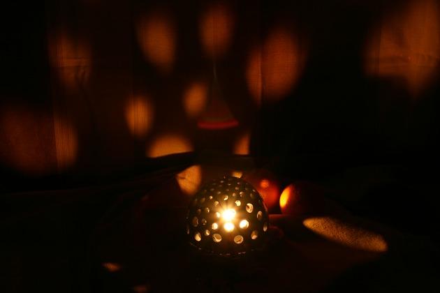Māla svečturi