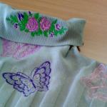Apģērba defektu labošana